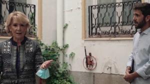 """Esperanza Aguirre planta a 'Salvados' por segunda vez: """"¡Se acabaron las preguntas!"""""""