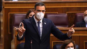 Sánchez torna a esquivar Bildu i compara el PP amb el trumpisme
