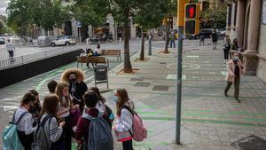 Pacificación del entorno de la Escola Pia Balmes.