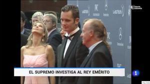 Juan Carlos, Iñaki y Corinna (TVE-1).