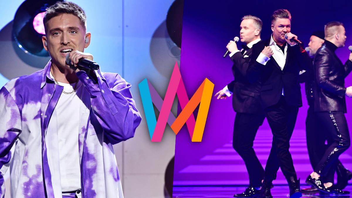 Danny Saucedo y Arvingarna, primeros finalistas del Melodifestivalen 2021