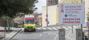Ambulancia en Alicante.