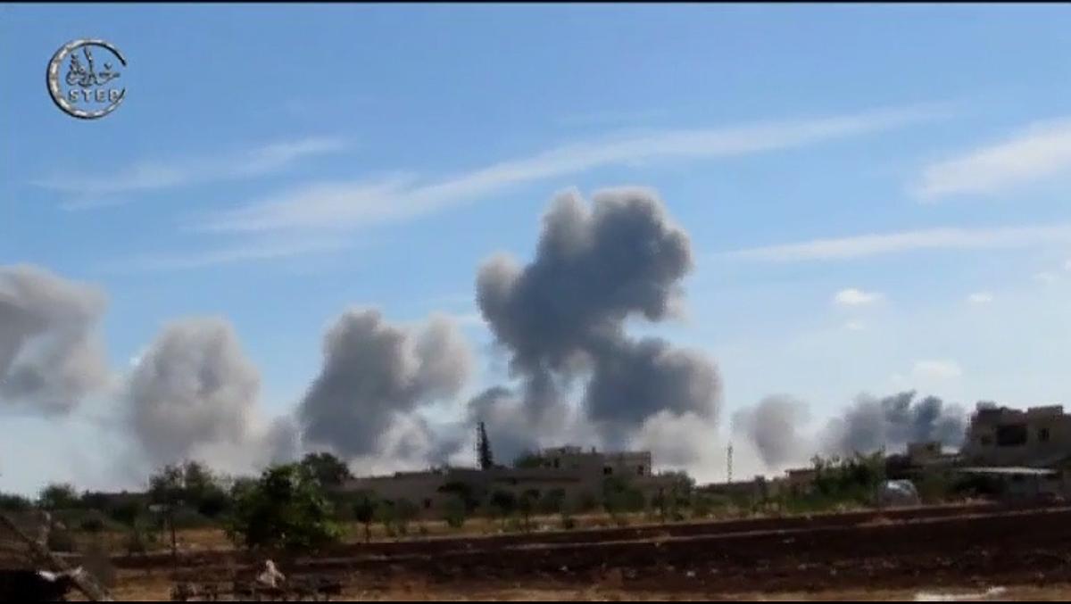 Rusia acaba de empezar en Siria una intervención militar contra el Estado Islámico, a petición del presidente Bachar al Assad