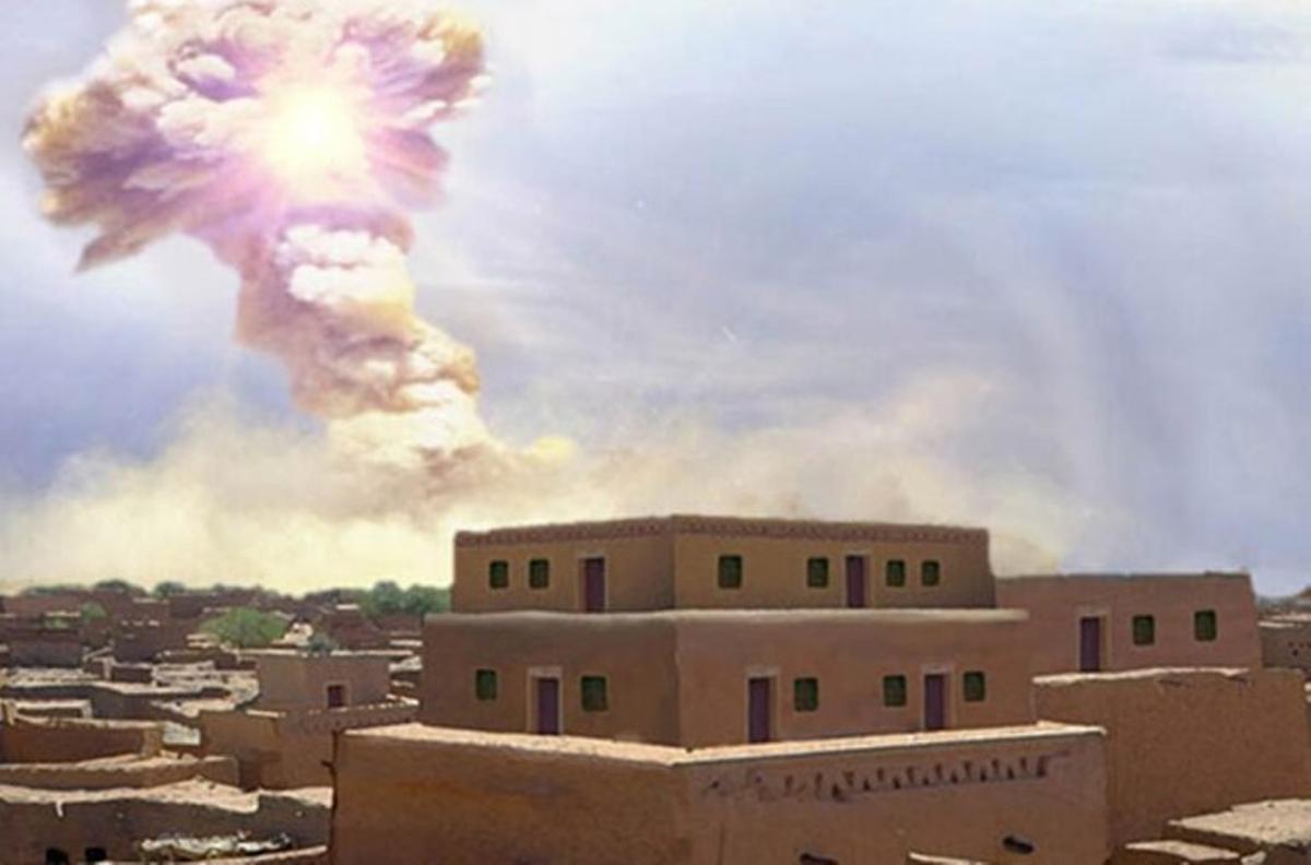 La catástrofe bíblica de Sodoma habría sido causada por un meteoro