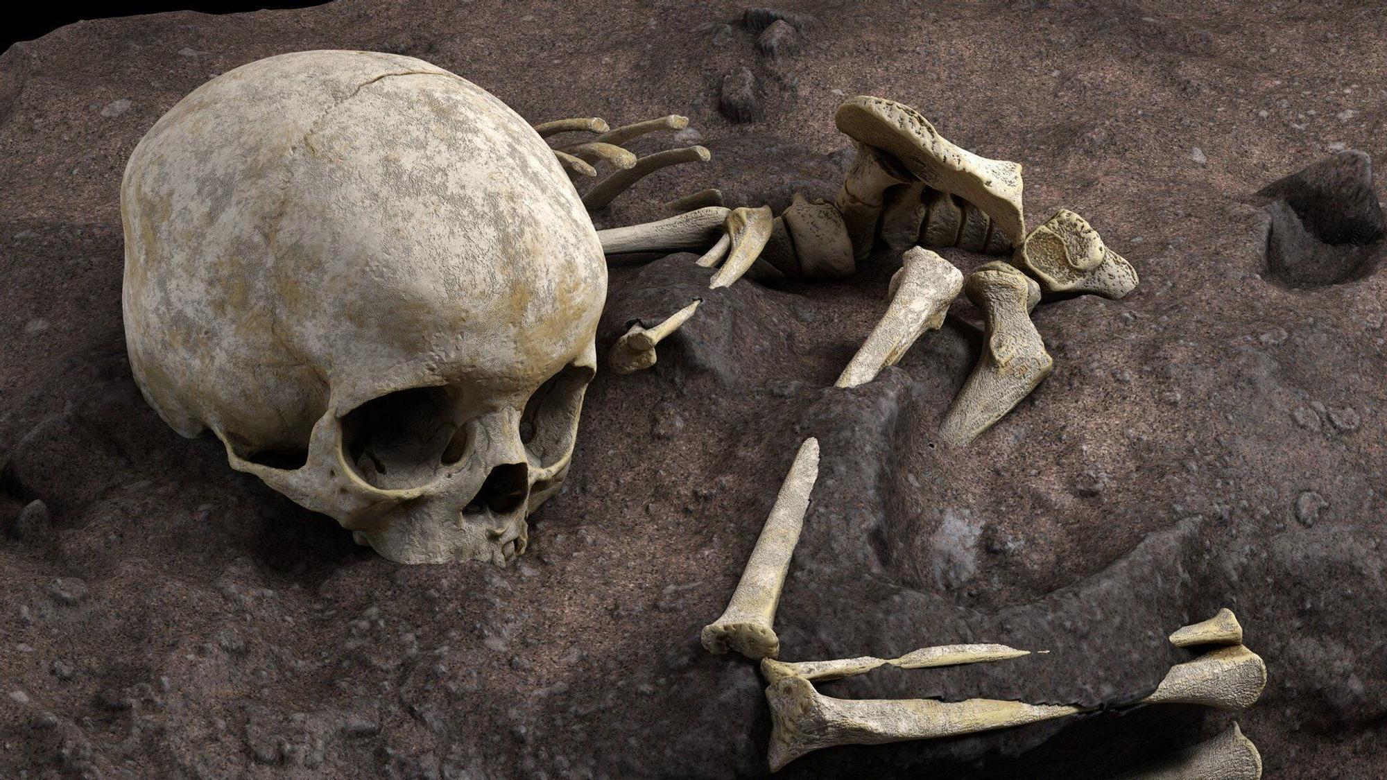 Hallada en Kenia la tumba más antigua de África, un niño de 3 años enterrado hace 78.000