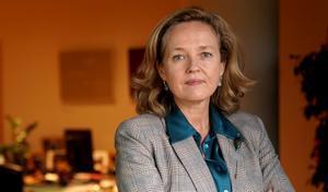 MADRID. 28.10.2020. Entrevista a Nadia Calviño, ministra de Economía. FOTO: JOSE LUIS ROCA