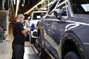 Imagen de la fábrica de SEAT en Martorell.