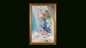 La obra de Dalí 'Madona cósmica'.