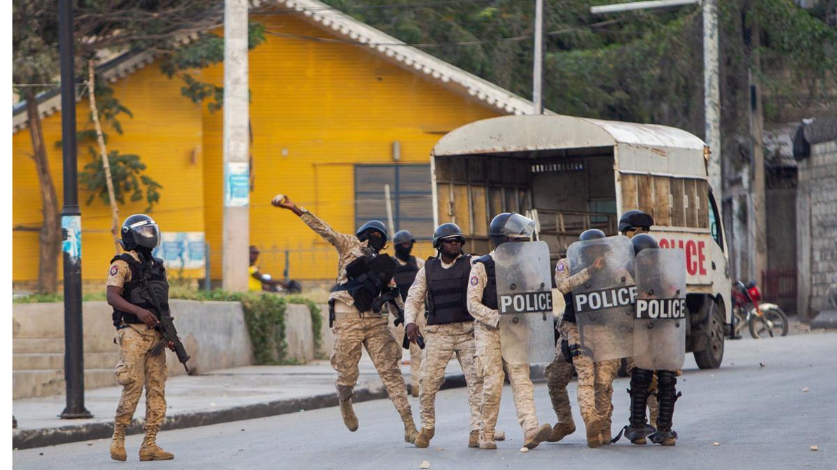 Intento de golpe de estado en Haití
