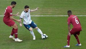 Messi respira i prepara el seu aniversari amb l'Argentina classificada