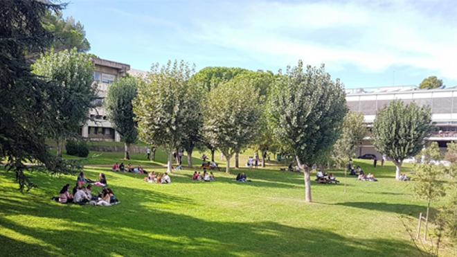 Una imagen de archivo del campus de la UAB.