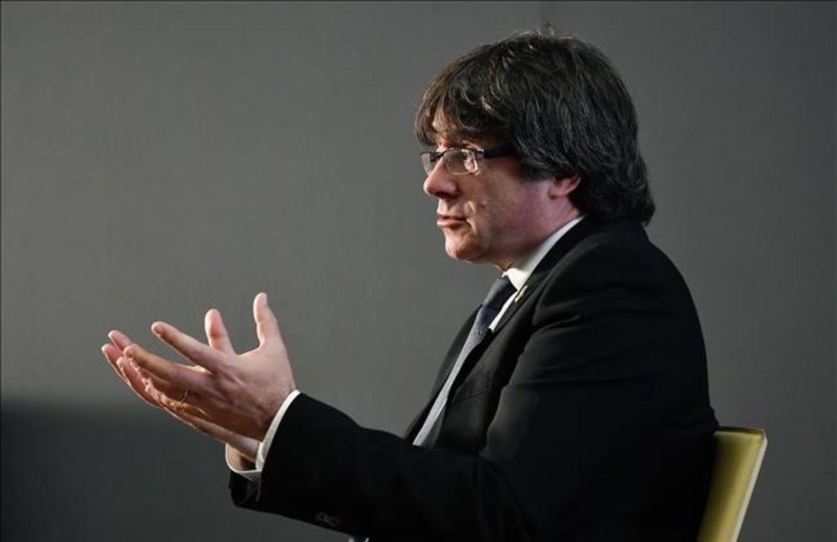 El 'expresident' del Govern, Carles Puigdemont.