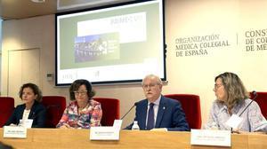 Rueda de prensa de presentación de los últimos datos del Programa de Atención Integral al Médico Enfermo.