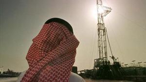 Instalaciones de extracción de petróleo de Aramco