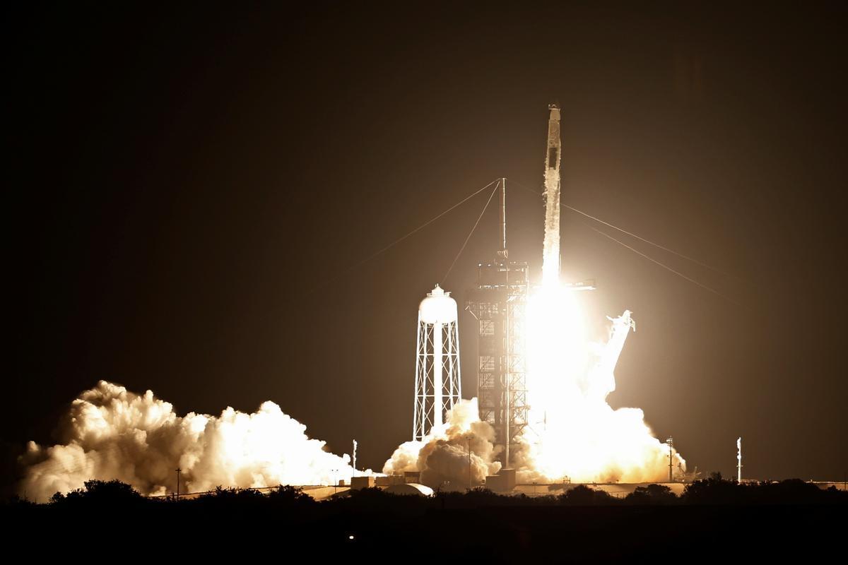 Lanzamiento de la misión Crew-2 de Space X y la NASA, este viernes desde Florida.