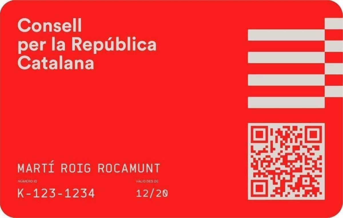 Carnet del Consell per la República Catalana