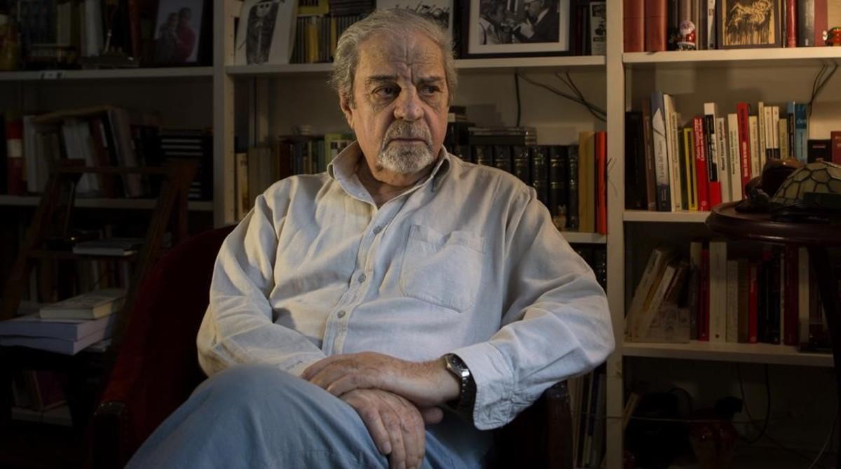 Juan Marsé, en su domicilio de Barcelona.
