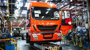Fábrica de camiones de Iveco, una de las marcas afectadas por multa de Bruselas.