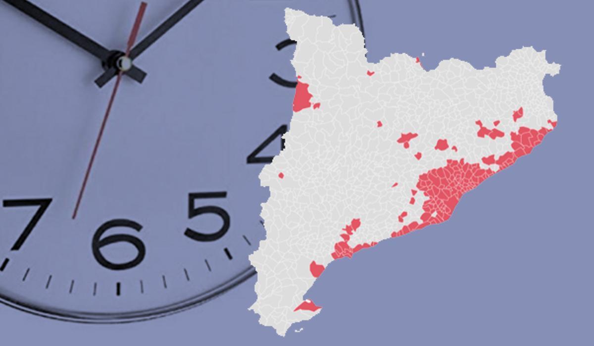 La llista de municipis catalans amb toc de queda es revisarà cada set dies