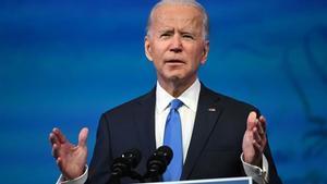 Joe Biden, en diciembre en Delaware.