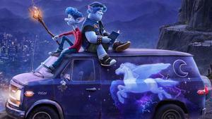 Una imagen promocional de 'Onward', de Pixar