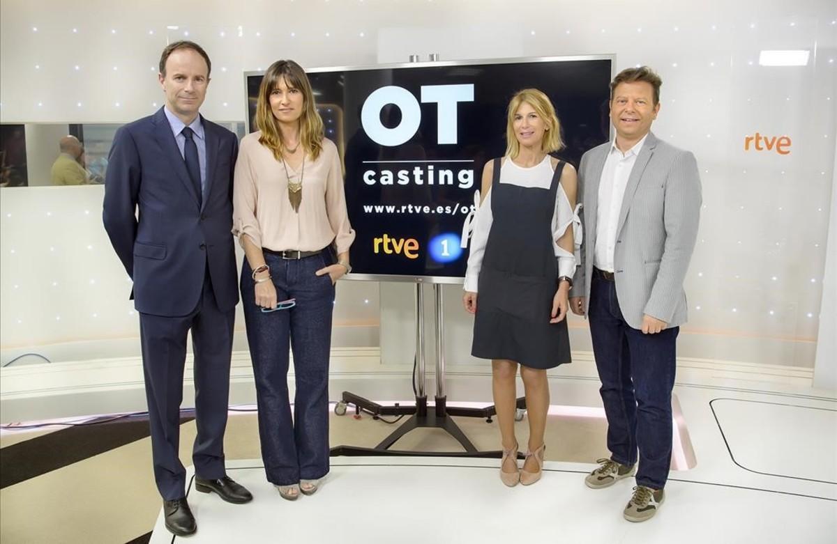 Presentación en TVE de los 'castings' de la nueva edición de 'Operación Triunfo'.