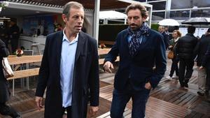 Sandro Rosell y su hermano Sergi en una imagen reciente.