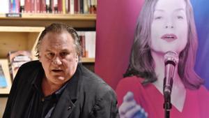 Gérard Depardieu, en la presentación de su libro 'Innocent', en 2016.