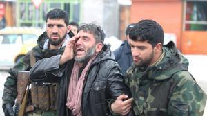 Al menos 6 muertos y 12 heridos en ataque suicida en el oeste de Kabul.