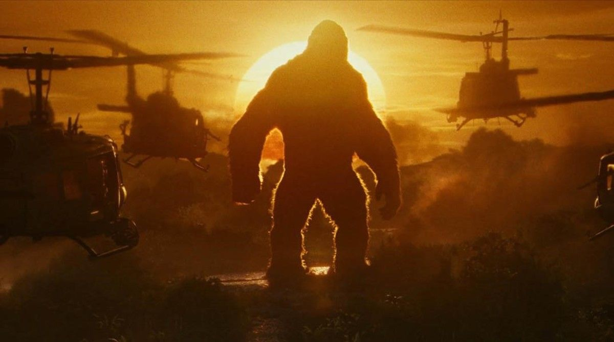 Una imagen promocional de'Kong: La Isla Calavera'.