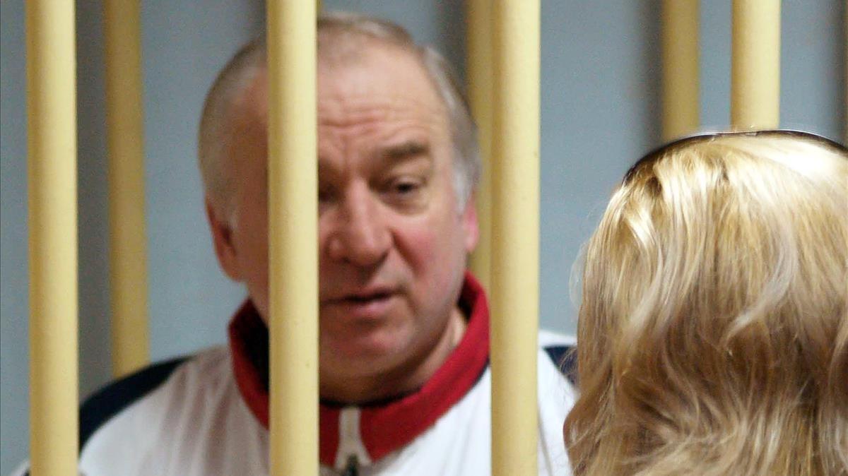 Sergei Skripal cuando fue juzgado en Moscú en agosto del 2006.