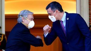 Sánchez exhibeix el recolzament de l'ONU a la seva aposta pel diàleg a Catalunya