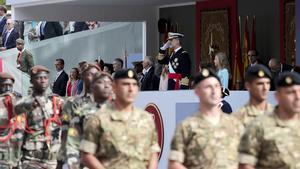 Desfile de las Fuerzas Armadas en Madrid, el pasado 12 de octubre.