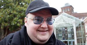 Kim Dotcom, fundador de Megaupload.