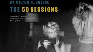 Exposición Marilyn Monroe by Milton H. Greene. The 50 Sessions.