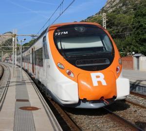 Un tren de Rodalies, en una imagen de archivo.