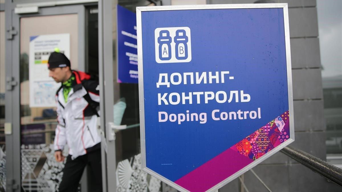 Control antidopaje de la Federación de Rusia.