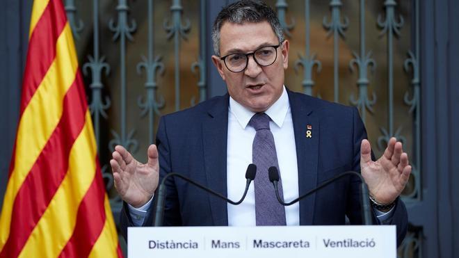 Miquel Sàmper pide revisar el modelo de orden público en el Parlament