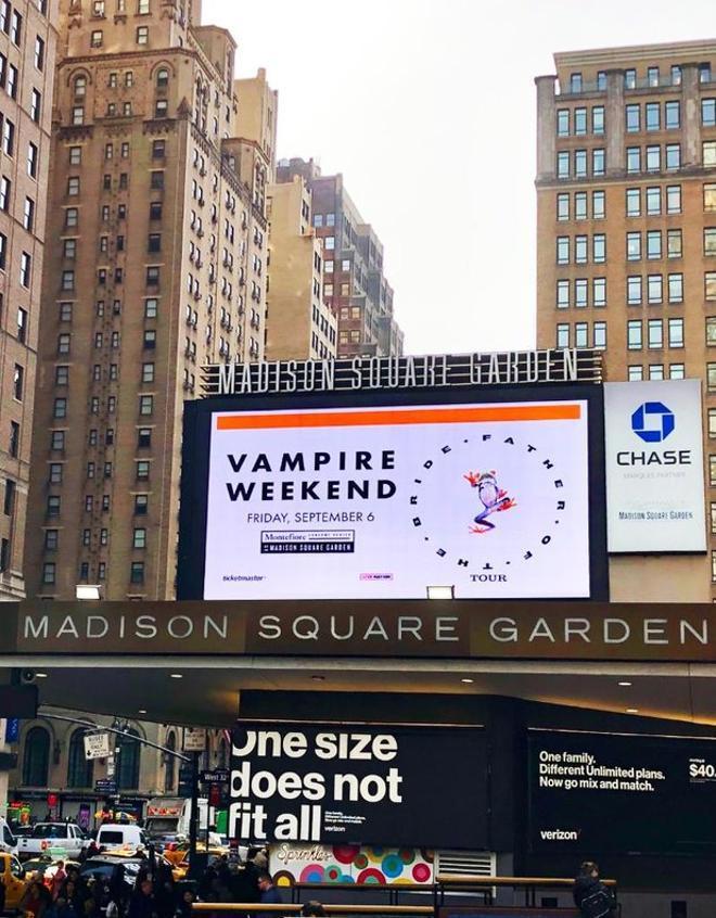 El Madison Square Garden de Nueva York.