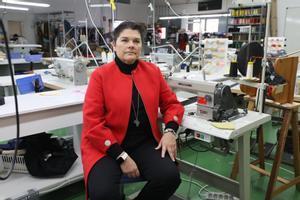 Rosa Escandell, directora de la empresa social A Puntadas.