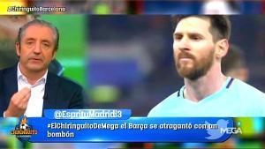 Josep Pedrerol tuvo una gran audiencia en 'El chiringuito de Jugones', deMega.