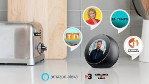 L'assistent virtual d'Amazon, a TV-3 i Catalunya Ràdio
