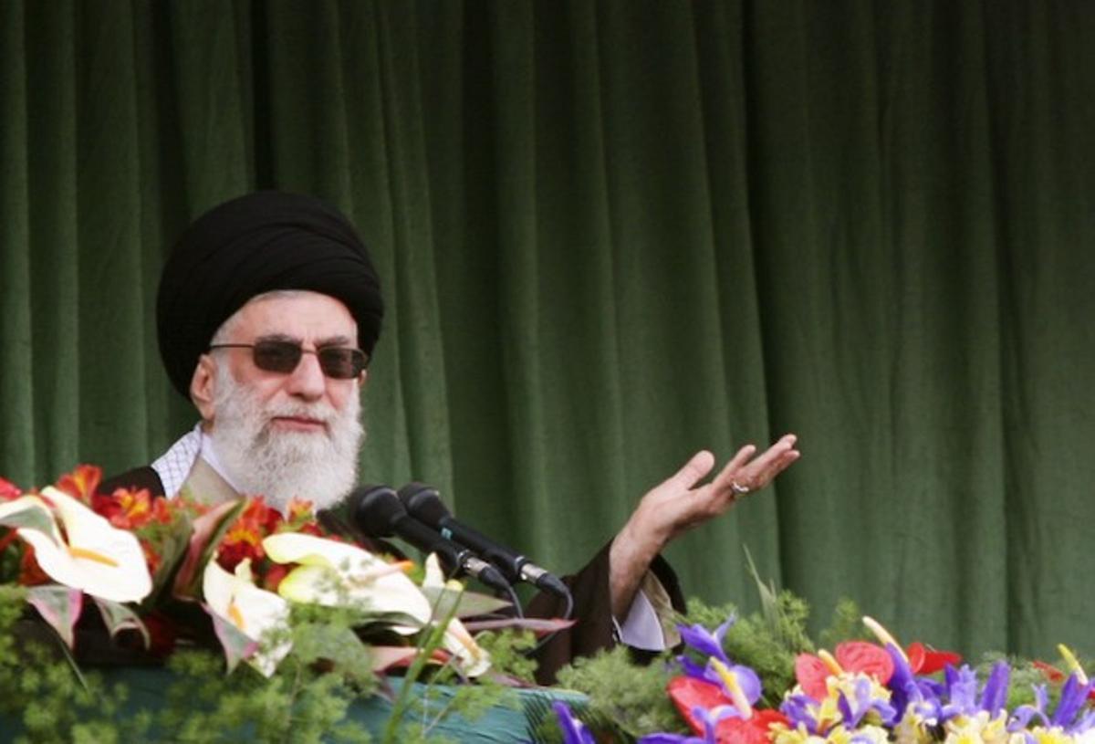 El ayatolá Jamenei.