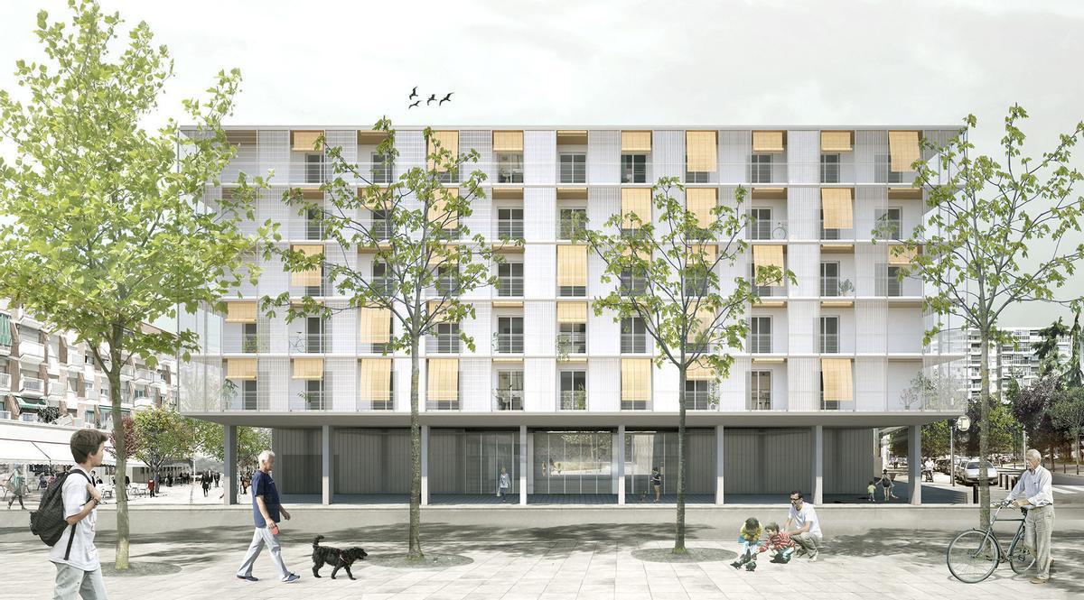 L'edifici de vivenda pública Pisa de Cornellà guanya un premi FAD