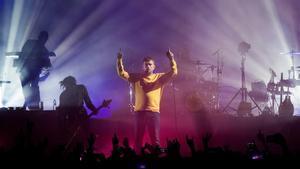 El cantante y guitarrista Damon Albarn,del grupo británico Gorillaz, en el Sónar del 2018.