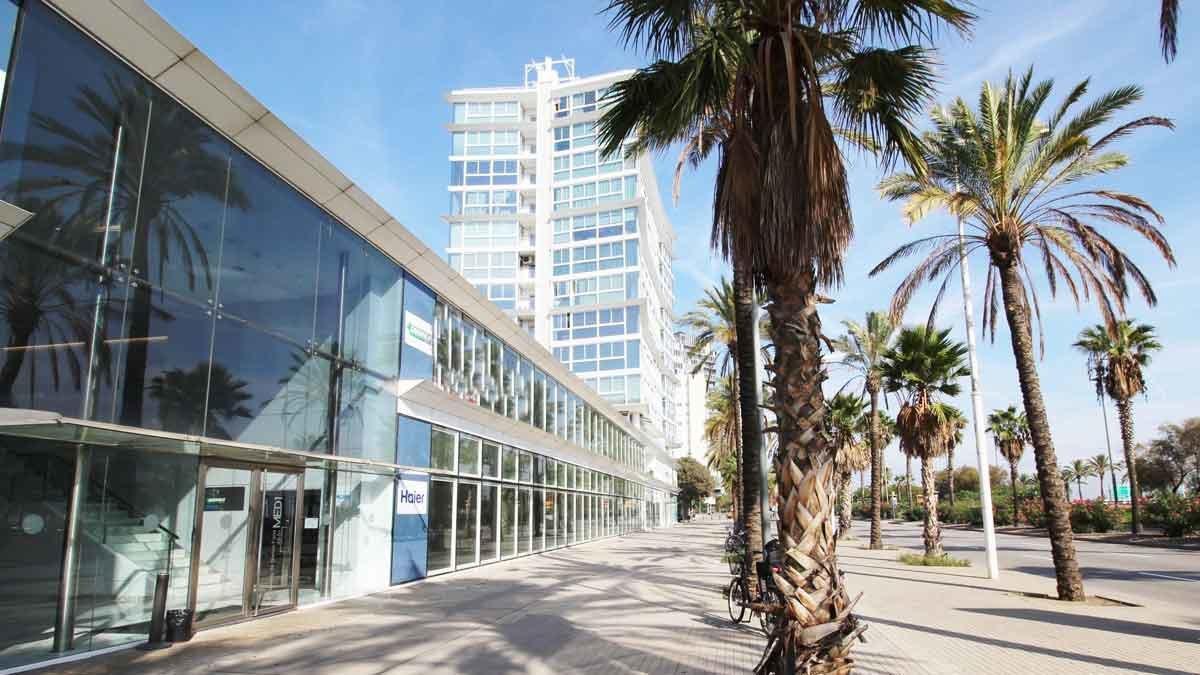 Edificio Med I, en el Front Marítim.
