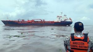 El Nordic Wolverine es un buque con 158,8 metros de eslora (longitud), 22,74 metros de manga (ancho) y una profundidad de calado de 7,8 metros.