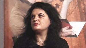 La poeta gallega Olga Novo.