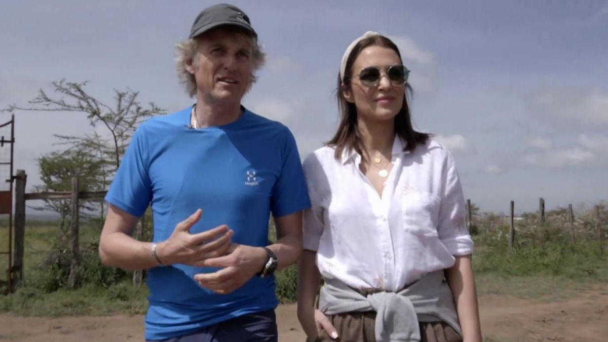 Jesús Calleja y Paula Echevarría en 'Planeta Calleja'