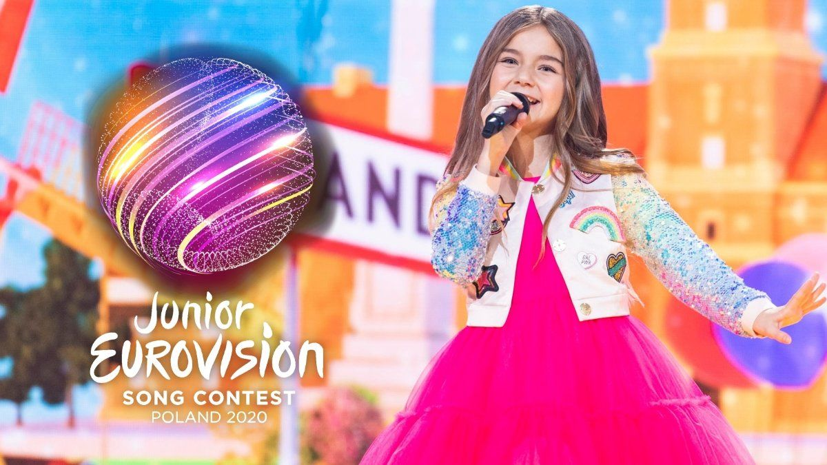 Valentina, representante de Francia y ganadora de Eurovisión Junior 2020.